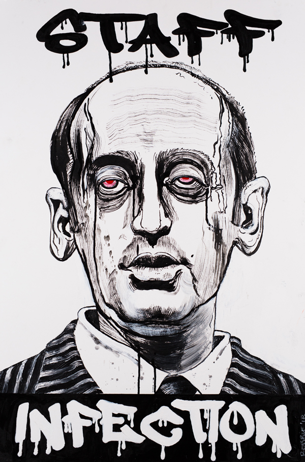Stephen Miller-2018-STAFF INFECTION