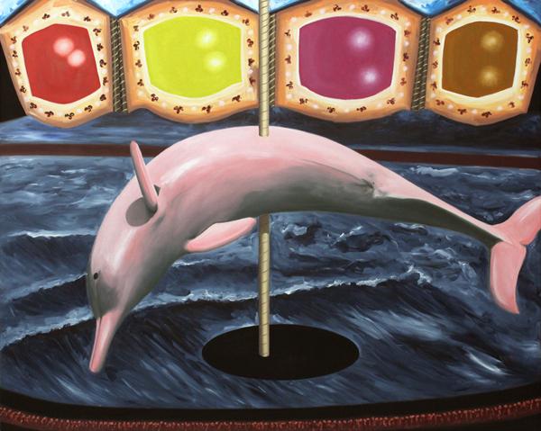 LISA ADAMS Anthropogenic Carousel 48x60