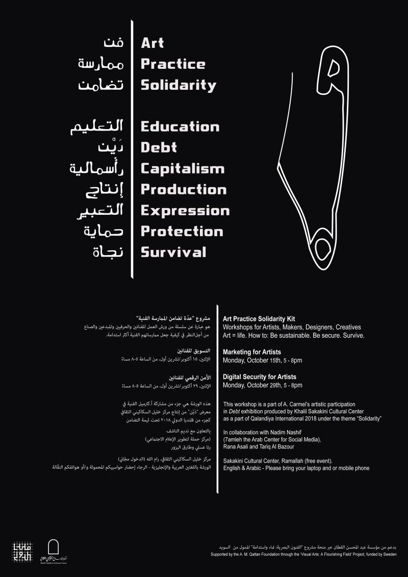 A Carmel workshop poster