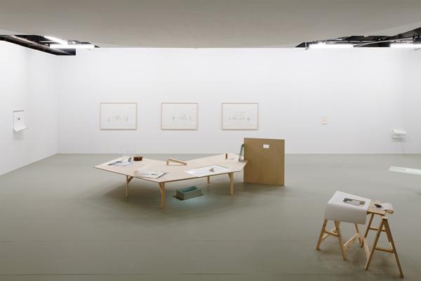 Dans Quel Sens Traverser Les Antipodes?. 2018. Mixed media installation. Variable dimensions. Palais de Tokyo Installation view