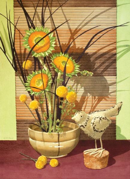 Sunbird Still Life