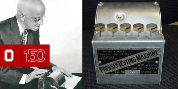 Pressey teaching machine